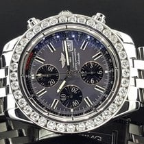 Breitling Evolution 44mm A13356 Stainless Steel 5.50 Carat...