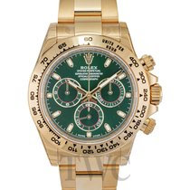ロレックス (Rolex) Daytona Green/18k yellow gold Ø40mm - 116508