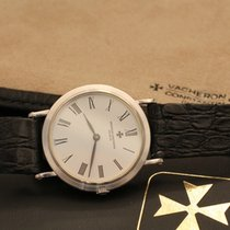 Vacheron Constantin extra plate - ultra thin - white gold box...