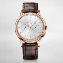 Zenith ELITE CHRONOGRAPH CLASSIC Rose Gold - Silver Dial...