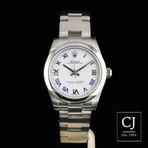 Rolex Oyster Perpetual Lady 31 Stainless Steel White Dial 31mm