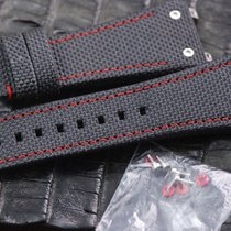 Linde Werdelin Textured / red insert strap / band fit for all...