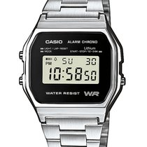 Casio A158WEA-1EF Unisex Collection Chronograph 3 ATM 33 mm