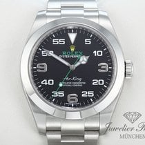 Rolex Air King 116900 Edelstahl 2016 LC100 Automatik AirKing