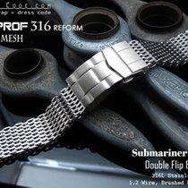 Strapcode 18mm Milanese Mesh Band, Brushed (05)