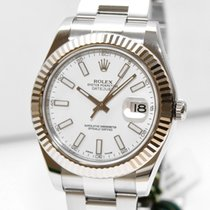 Rolex Datejust II Stahl 116334 Box Papiere 2015 WIE NEU