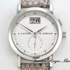 A. Lange & Söhne SAXONIA 34mm Weissgold 750 Grossdatum...
