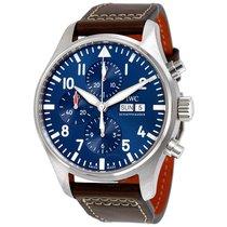 IWC Pilot Midnight Automatic Chronograph Blue Dial Men's...