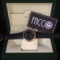 Rolex 50525 CELLINI DUAL TIME Everose Gold Black