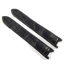 Cartier Pasha 17mm black alligator leather strap KD1K9K97