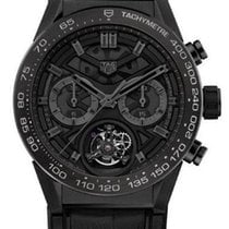 TAG Heuer Carrera Heuer-02T Tourbillon Black Phantom (Limited...
