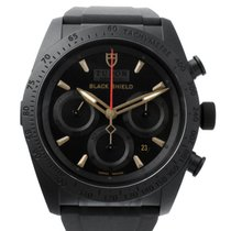 튜더 (Tudor) FastRider Black Shield Black/Rubber 42mm - 42000CN