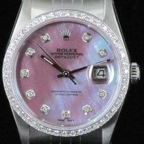 ロレックス (Rolex) Datejust 16234 Dial MOP Bezel Diamond Steel...