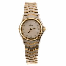 Ebel Classic Wave Ladies Two Tone Watch with Diamonds and...