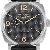 Panerai Radiomir 1940 3 Days GMT Acciaio Automatic Men Watch...