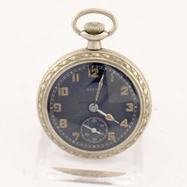 エルジン (Elgin) pocket watch, observation watch, military, 1940s