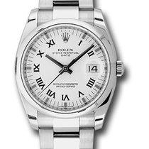 Rolex Unworn 115200wro Date 34mm in Steel with Domed Bezel -...