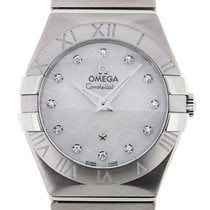 Omega Constellation 27 Quartz Steel