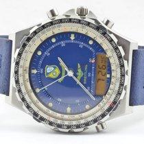 Breitling Navitimer 3300 Herren Uhr Quartz 43mm Blau Blue...