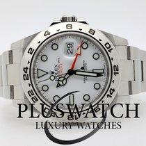 Rolex EXPLORER 2 II  216570 2017 White Dial 3586