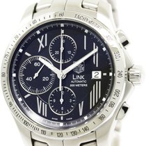 TAG Heuer Polished Tag Heuer Link Stardust Chronograph Ltd...
