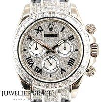 Rolex Daytona Weißgold 18K Diamonds Aftermarket 1000 Tage...