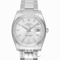 Rolex Perpetual Date Silver/Steel Ø34mm - 115200