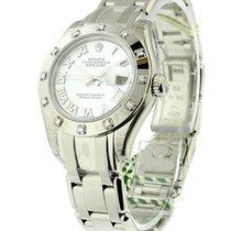 Rolex Unworn 80319 Ladys White Gold Masterpiece - 12 Diamond...