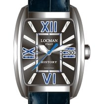 Locman History 486N00BKFBL0PSK Black Quartz Men's Watch