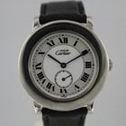 Cartier Must de Cartier Ronde 1815 Silber #A3027