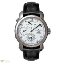 Vacheron Constantin Malte Dual Time Regulator White Gold Case...