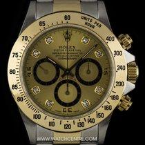 Rolex S/G O/P Champagne Diamond Dial Zenith Movement Daytona...