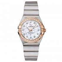 Omega Constellation  Stainless Steel -  Red Gold Ladies watch...