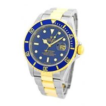 Rolex Submariner Two-Tone Blue Dial 16613 Blue