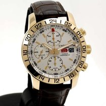 Chopard Mille Miglia Chronograph GMT 42mm in rose gold - full...