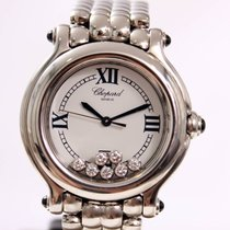 Chopard Happy Sport with 7 Swinging Diamonds, Midsize