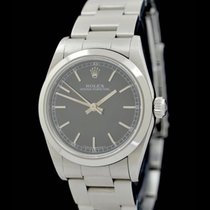 Rolex Oyster Perpetual - Ref.: 67480 - Anthrazit - Box/Papiere...
