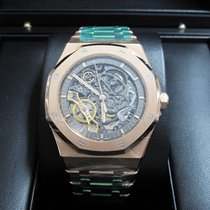 Audemars Piguet Royal Oak Openworked 18K Rose Gold Watch