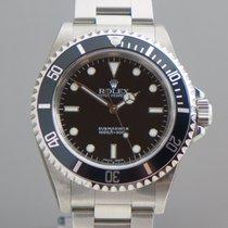 Rolex Submariner no Date,verklebt, Two Liner, 2 Line, Fat four