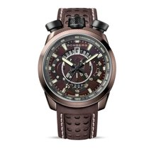 Bomberg Herrenuhr Bolt-68 Chronograph BS45CHPBR.016.3