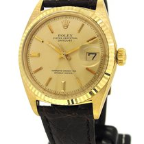 Rolex Oyster Perpetal Datejust 18K Gold 1601