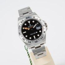 Rolex Explorer II schwarz  unworn LC EU box and papers
