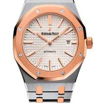 Audemars Piguet Royal Oak 18K Pink Gold & Stainless Steel...