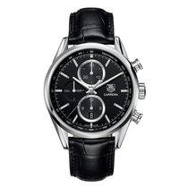 TAG Heuer Carrera Automatic Chronograph Black Alligator Leather
