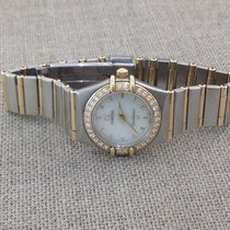 Omega Constellation Diamond Mother of Pearl 2014 Full Set
