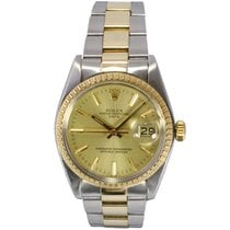 Rolex Oyster Perpetual Date Gold and Steel Bimetal Watch 1505