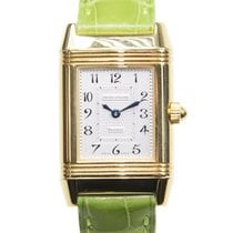 Jaeger-LeCoultre Reverso 18 K Yellow Gold Silvery White Manual...