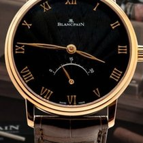 Blancpain VILLERET ULTRAPLATE BLACK DIAL 6653363055B