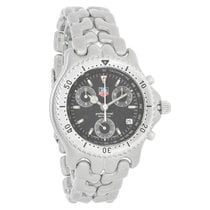 TAG Heuer S/El Mens Swiss Chronograph Quartz Watch CG1110.BA0473