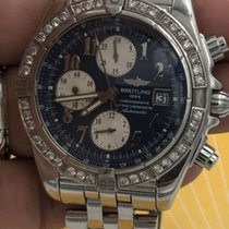 Breitling Chrono Evolution Refa13356 Blue Dial 2 Carat ...